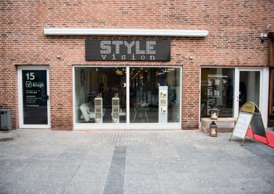 Style Vision facaden ud mod Østergade i Holstebro
